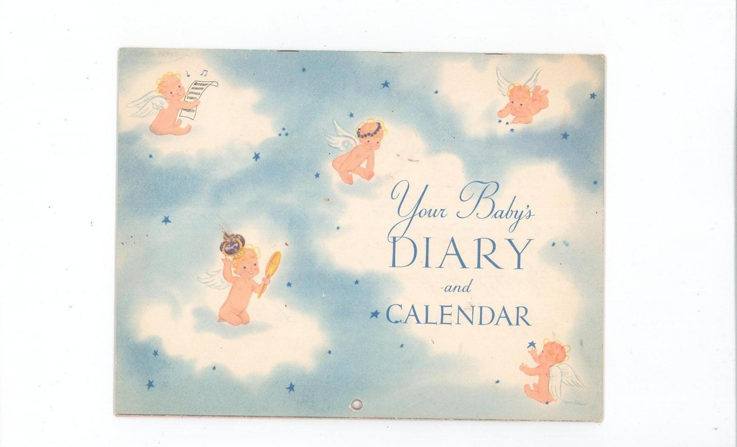 Vintage Your Baby's Diary And Calendar by Heinz  1947
