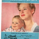 Your New Baby January 1959 Parents Magazine Lots Of Advertisements Given by Stork Baby Wash NY