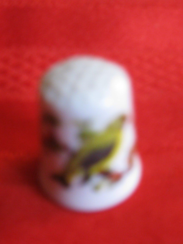 Bird Thimble  Vista Alegre Porcelain VA Portugal
