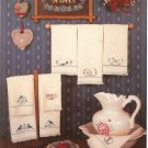 Hand Towels by Harriette Tew Cross Stitch Leaflet 29
