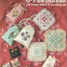 Sachets & Pincushions Leisure Arts Anne Van Wagner Young Cross Stitch Leaflet 225
