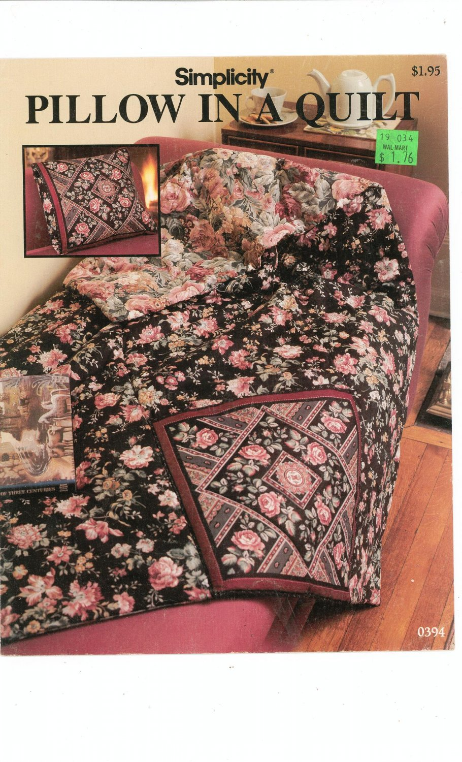 Simplicity Pillow In A Quilt Number 0394