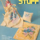 Kid Stuff Minibook 367 by Spinnerin Vintage Craft Pattern  1974