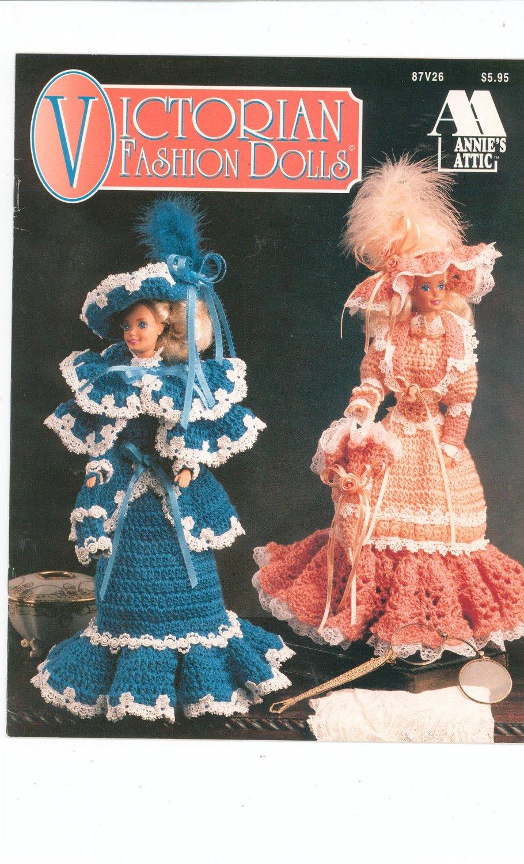 Victorian Fashion Dolls Knitting by Annies Attic 87V26