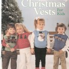 Christmas Vests For Kids Knitting Leisure Arts 611