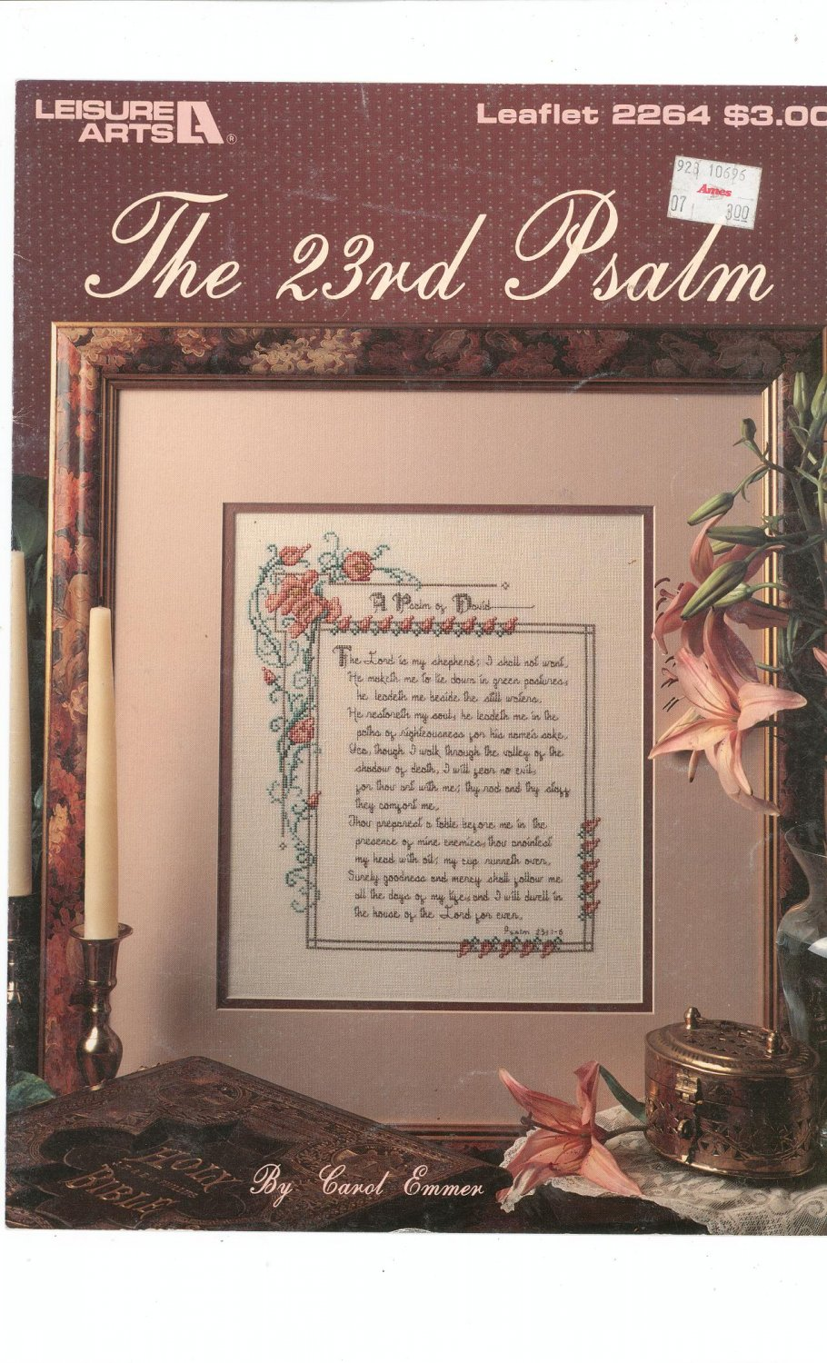 The 23rd Psalm Cross Stitch Leisure Arts 2464