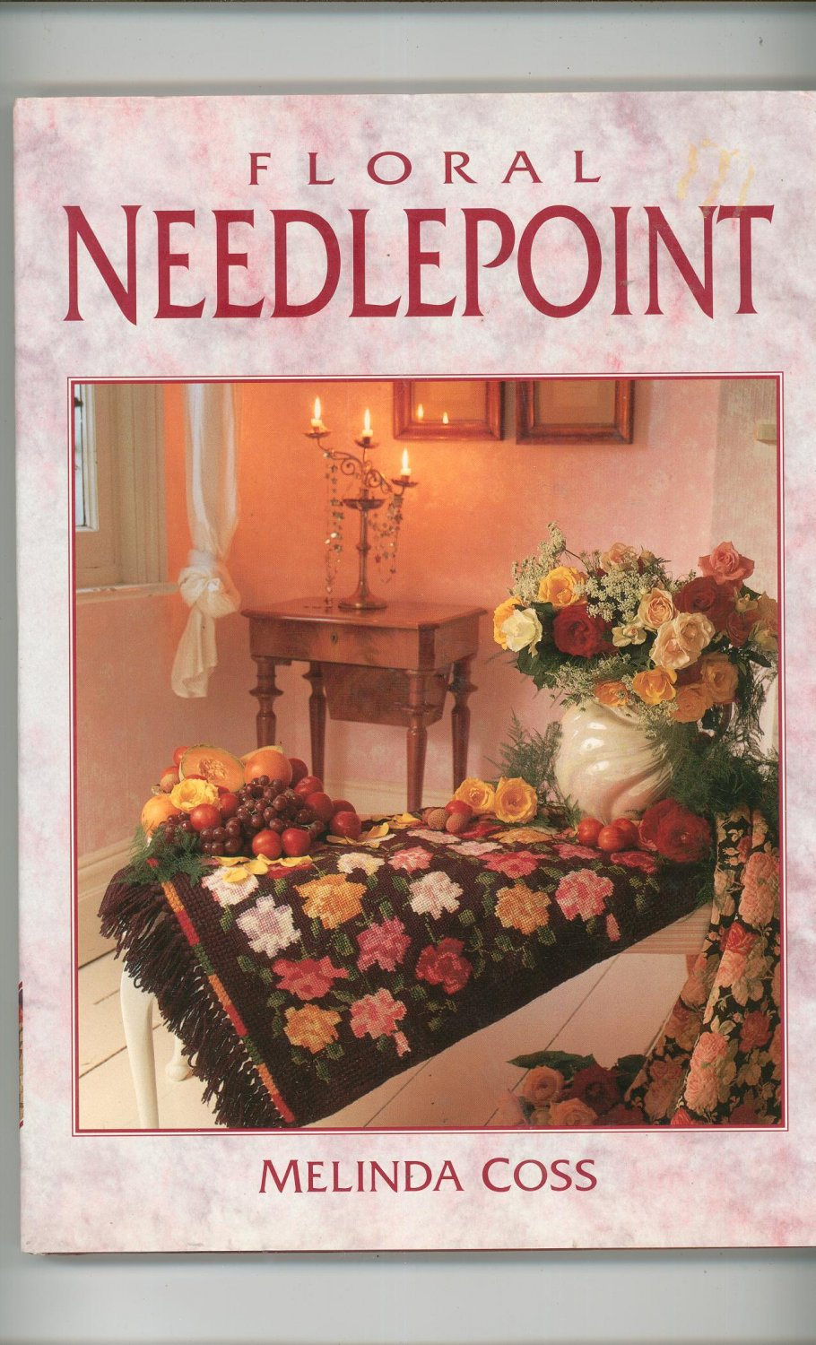 Floral Needlepoint by Melinda Coss 1854700626