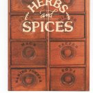Better Homes and Gardens Herbs And Spices Cookbook 0696020505 First Edition First Printing