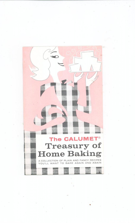 Vintage The Calumet Treasury Of Home Baking Cookbook 1979
