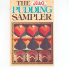 Vintage The Jell-O Pudding Sampler Cookbook 1976 JellO Jell O