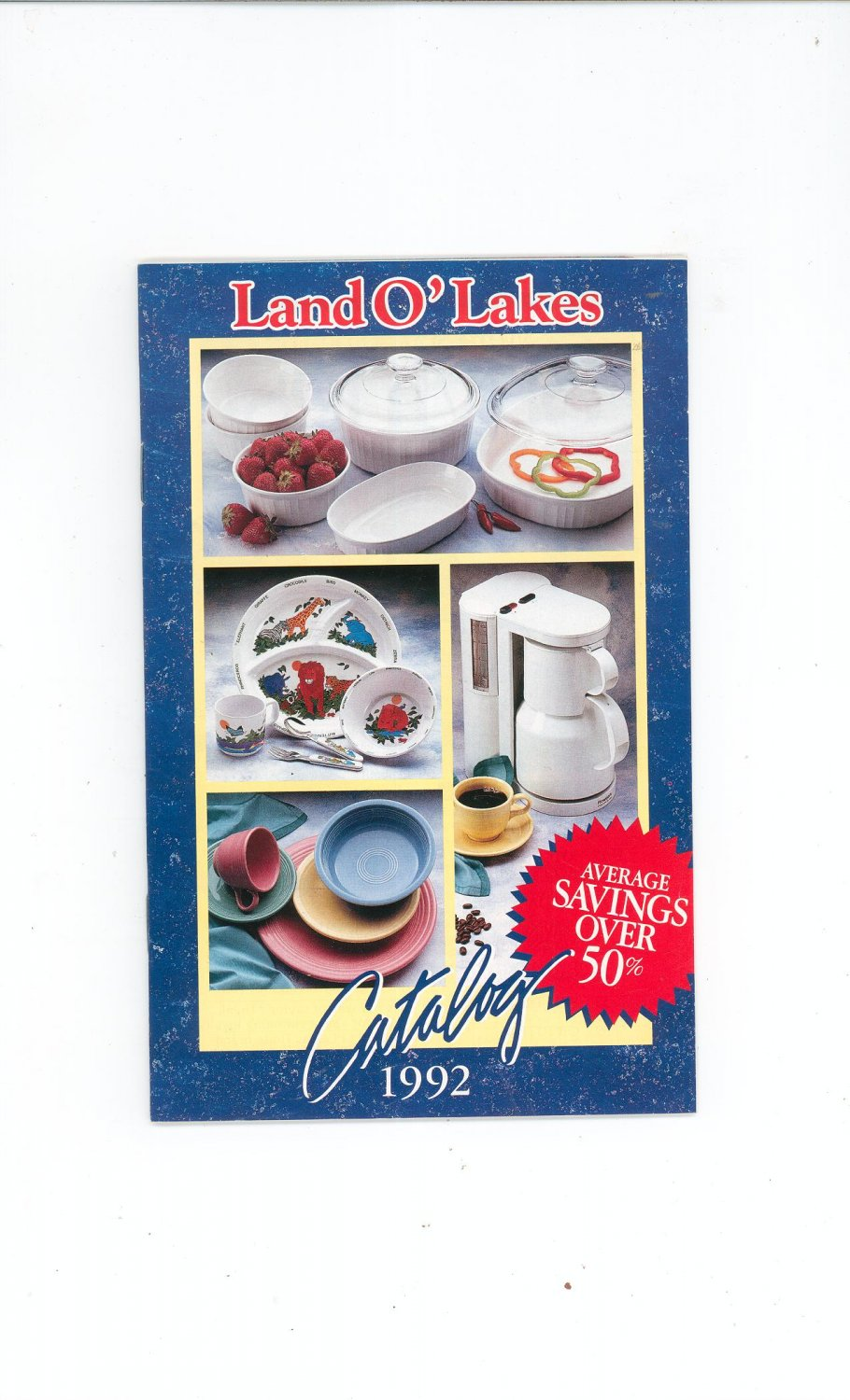 Land O Lakes Catalog 1992 Complete With Order Form Land O' Lakes