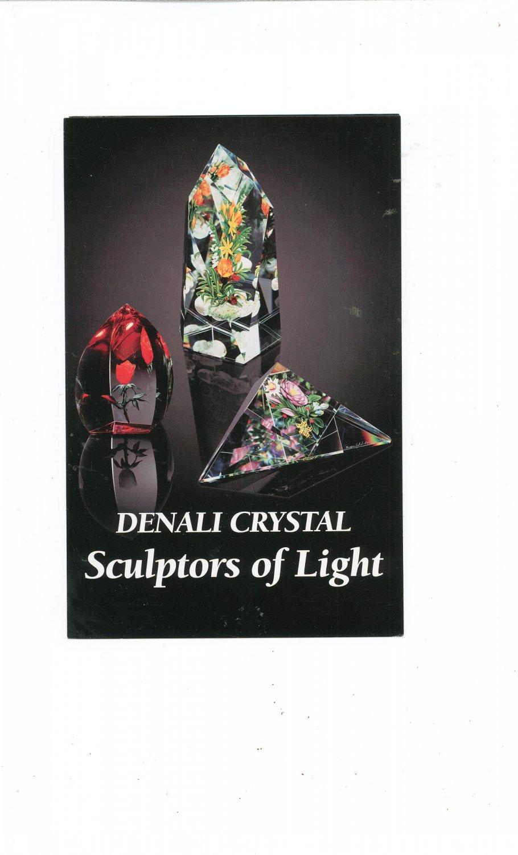 Denali Crystal Sculptors Of Light Catalog / Brochure by L. H. Selman Ltd. Paperweights