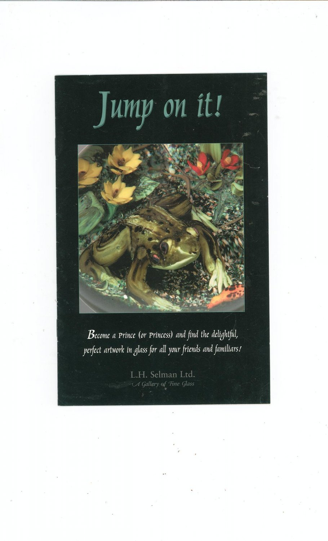 Jump On It Catalog / Brochure by L. H. Selman Ltd. Paperweights
