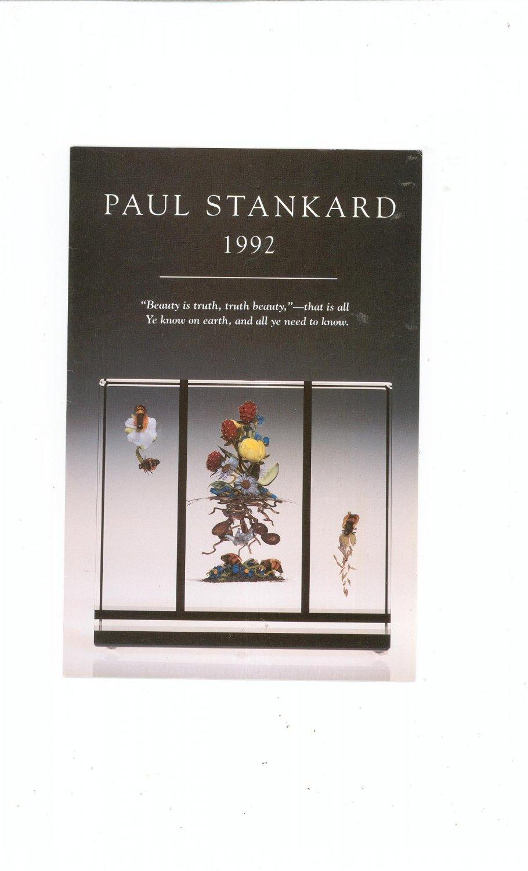 Paul Stankard 1992 Catalog / Brochure by L. H. Selman Ltd. Paperweights