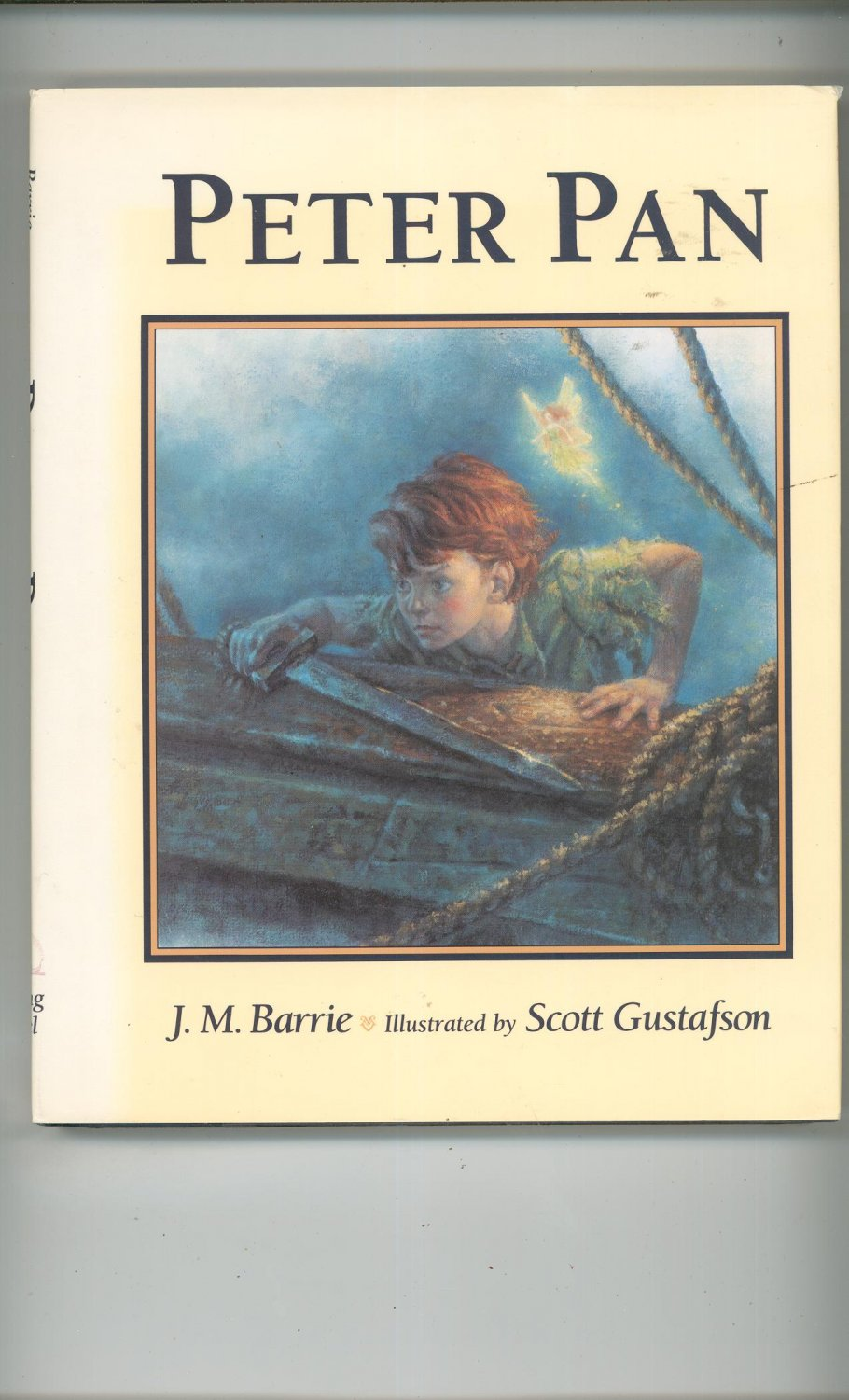 Peter Pan by J.M. Barrie Illustrated Scott Gustafson 0670841803