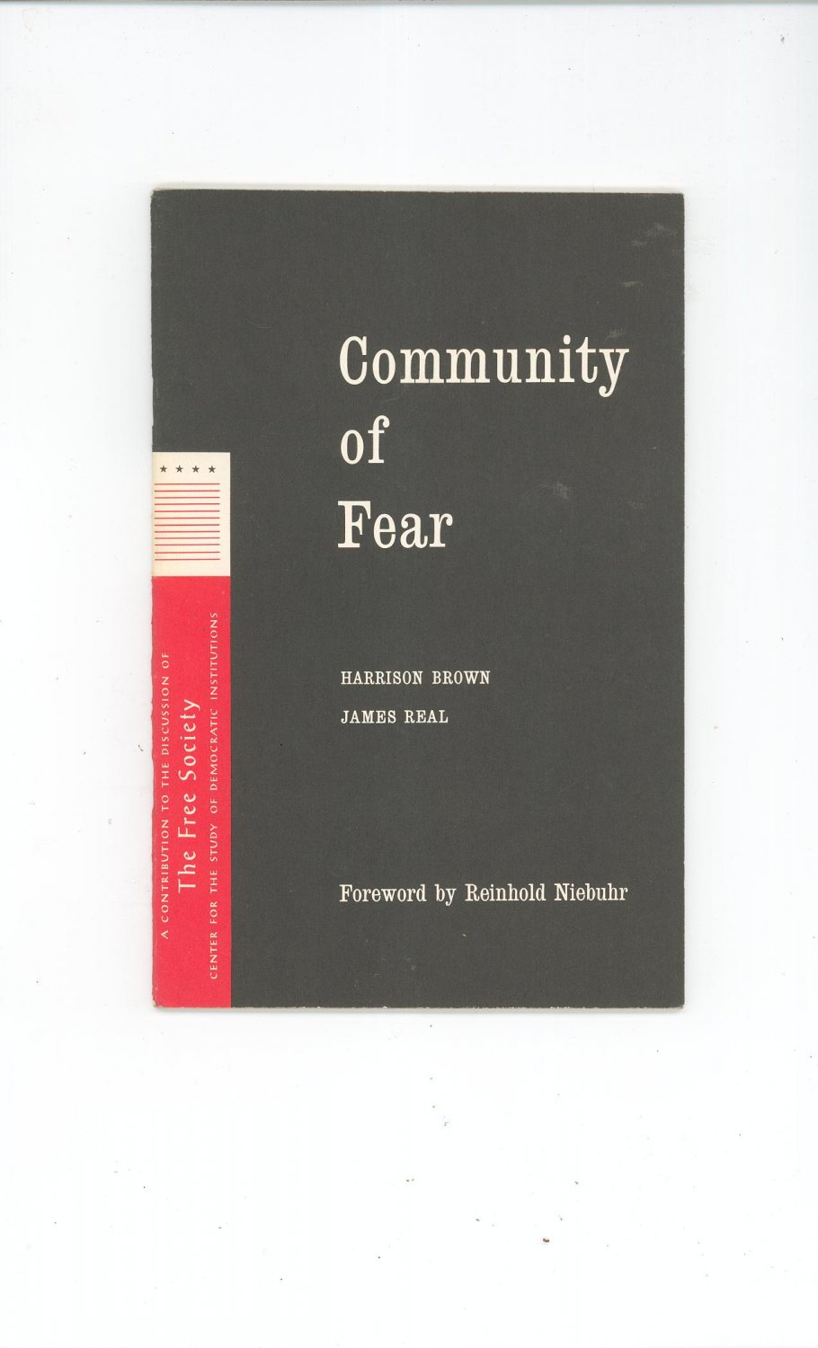Vintage Community Of Fear by Harrison Brown & James Real 1960