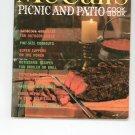 Vintage McCall's Picnic And Patio Cookbook M18 1978 Printing McCalls Mc Calls