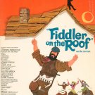Vocal Selections Fiddler On The Roof Vintage