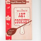 Regional / Community The Williamson Art Of Cookery Cookbook Apple  Vintage