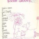 Vintage The 59th Street Bridge Song Feelin Groovy Paul Simon Sheet Music 1967