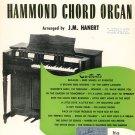 Vintage Chappell's Song Favorites For Chord Organ Music Book J. M. Hanert 1953