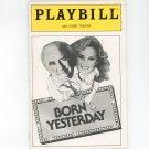 Playbill Born Yesterday 46th Street Theatre Play Bill Souvenir