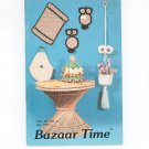 Lot Of 2 Bazar Time Vol. III No. 6 & No. 5 May July 1983 Crochet Animal Toy