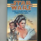 Star Wars The Courtship Of Princess Leia Wolverton Hard Cover First Edition 0553089285