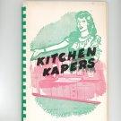 Regional Kitchen Kapers Cookbook Chapin Methodist Church 1951 New York