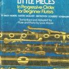 Forty Little Pieces In Progressive Order Flute & Piano Louis Moyse