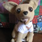 Taco Bell Talking Chihuahua Stuffed Plush Dog