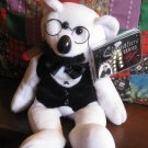 Signature Series Classic Collecticritters Groucho Marx 1 Beanie Stuffed Plush Bear
