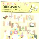 Pompon Originals Bazaar Items Party Favors Book No. 75 By Doodle Loom