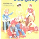 Doll Shop Booklet 17 Crocheted Dolls Sue Penrod