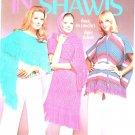 In Shawls Columbia Minerva Leaflet 2524 Crochet Knit