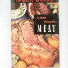 250 Ways To Prepare Meat #8 Cookbook Vintage 1950 Culinary Arts Institute