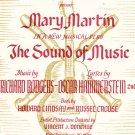 Vintage Sixteen Going On Seventeen Sound Of Music Sheet Music Williamson Music Co.