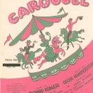 Vintage If I Loved You Carousel Sheet Music Williamson Music Inc.