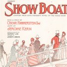 Vintage Make Believe Show Boat Sheet Music T. B. Harms Company