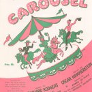 Vintage You&#39;ll Never Walk Alone Sheet Music Carousel Williamson Music Corp.