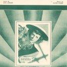 Vintage Envy Sheet Music Encore Music Publications Inc.