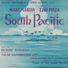 Vintage Some Enchanted Evening South Pacific Sheet Music Williamson Music Inc.