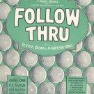 Vintage Button Up Your Overcoat Sheet Music Follow Thru De Syiva Brown & Henderson