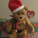 Ty 1997 Teddy Bear With Tag Retired Beanie Baby Christmas