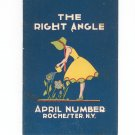 Vintage Lot The Right Angle Rochester Technical High School 1929 1930