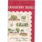 20 Famous Cranberry Dishes From Famous American Eating Places Cookbook Ocean Spray