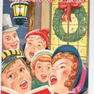 Vintage Christmas Carols Music Book 1952 Whitman 2965