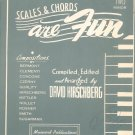 Vintage Scales & Chords Are Fun David Hirschberg Book Two Minor Musicord Publications