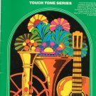 Wurlitzer Holiday Season Touch Tone Series Music Book Vintage 1975
