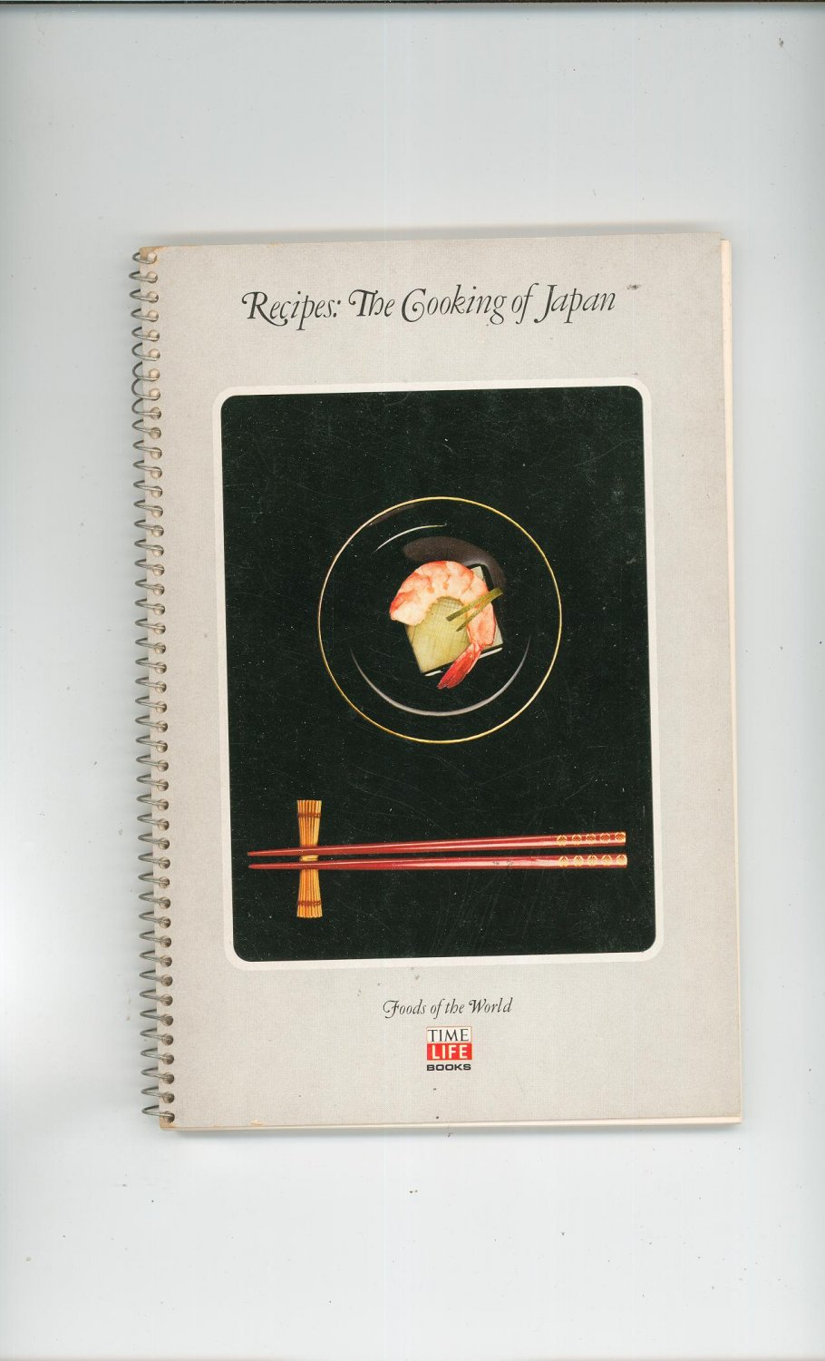 The Cooking Of Japan Recipes Cookbook Vintage 1974